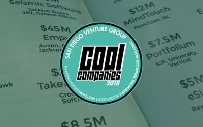 2018 SDVG Cool Companies Announced!